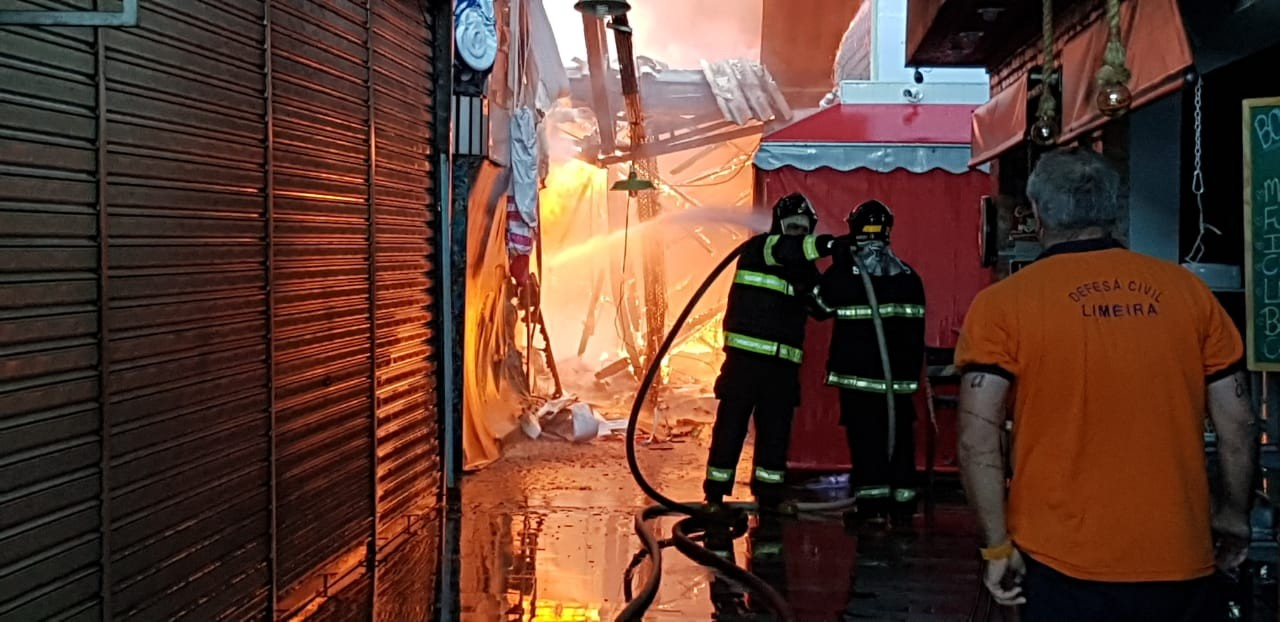 população limeira esvazia mercado municipal após incêndio