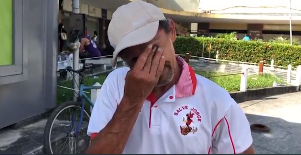 desempregado chora posto receita federal madureira rio de janeiro