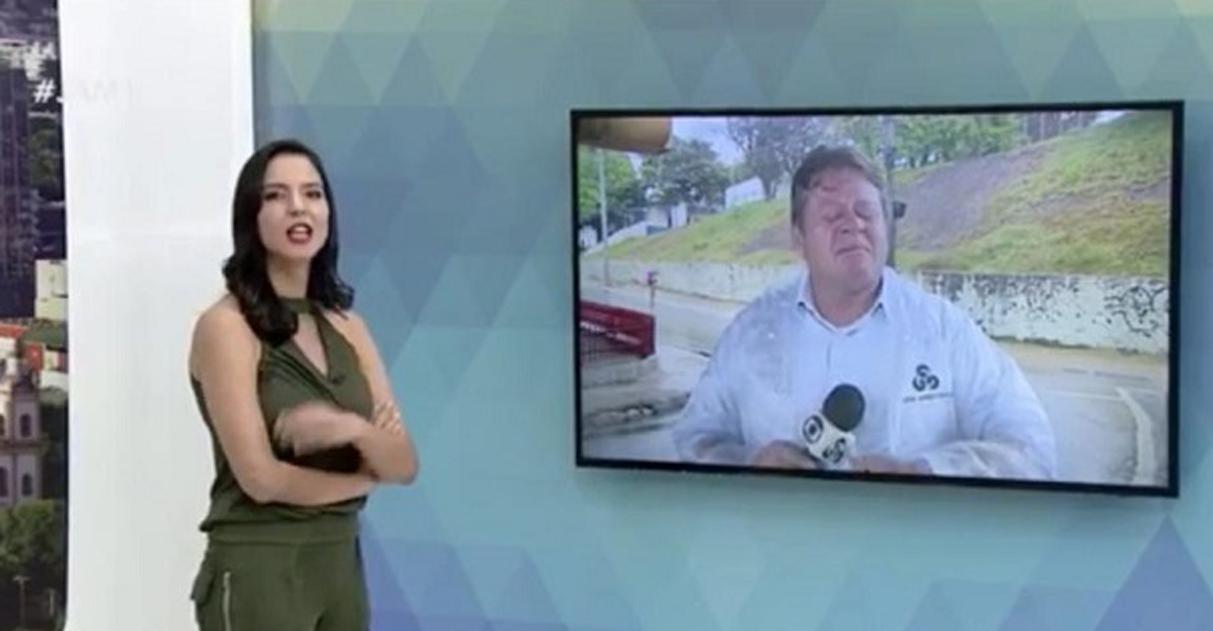 repórter chora noticiar alta pacientes coronavírus