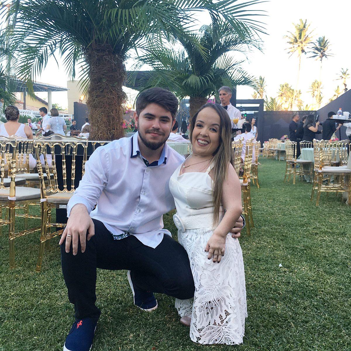 casal festa casamento