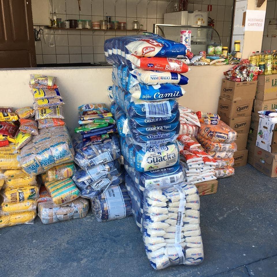 alimentos para cestas básicas