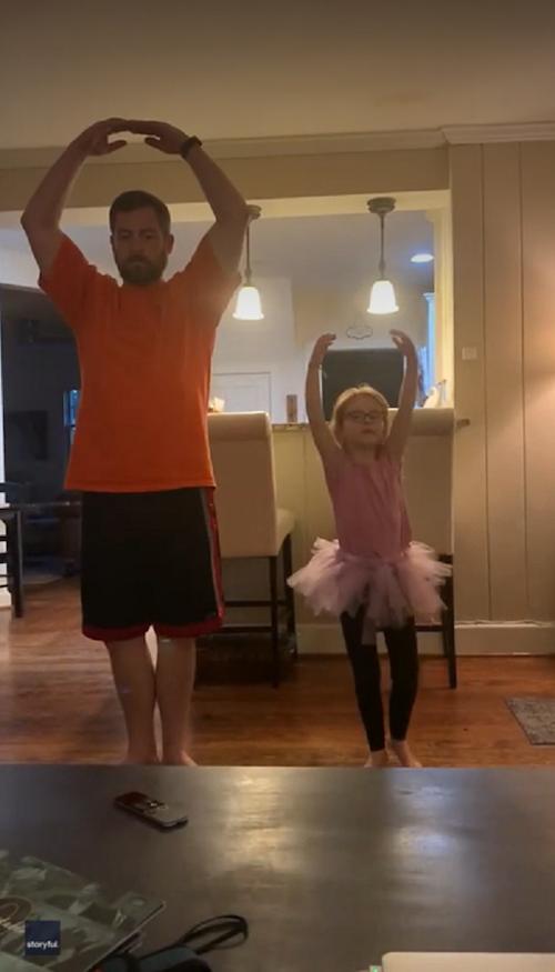 Bryan-Witt-dancing-ballet-with-daughter-Abigail