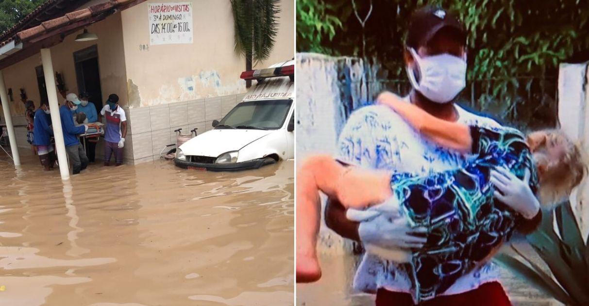 Vaquinha para reerguer asilo destruído por enchente onde vivem 34 idosos 3