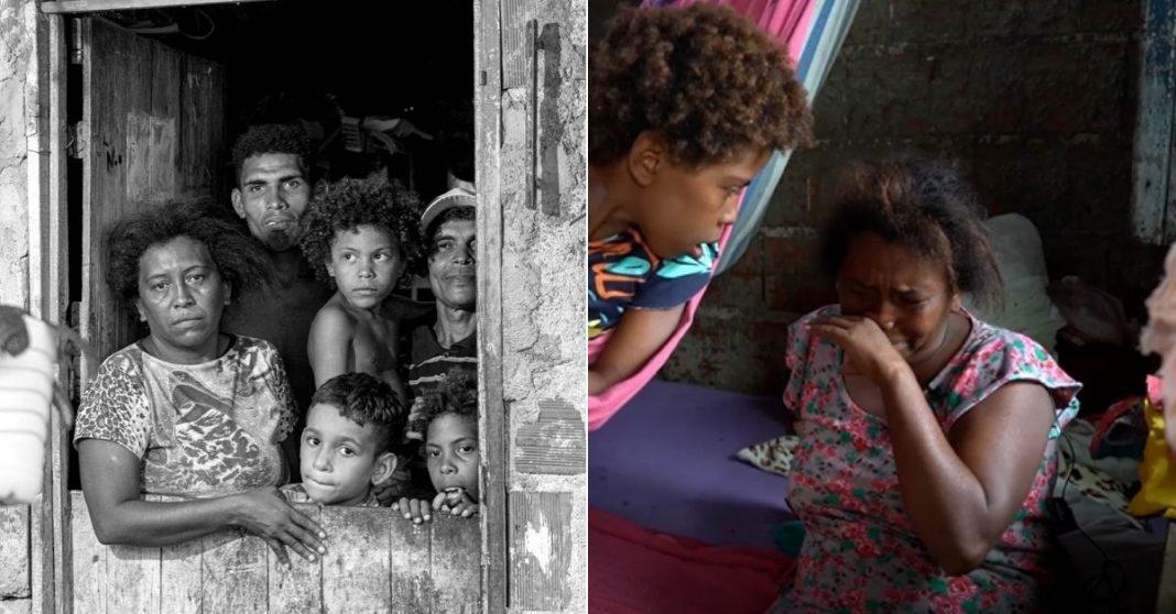 crianças janela casa madeira periferia sobral ceará