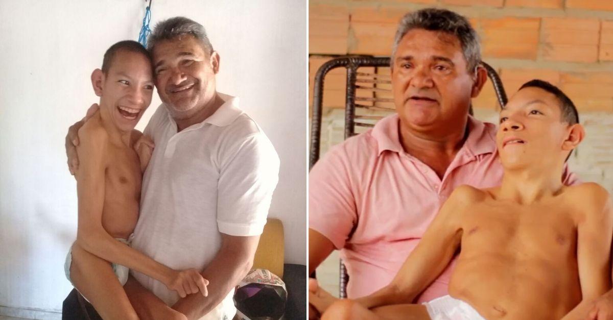 Amor incondicional: há 21 anos tio largou tudo para cuidar de sobrinho especial que ficou órfão 2