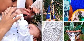 batismo bebê conta com participação familiares diversas religiões