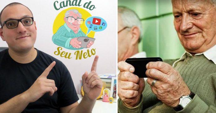 Sem netos para ajudar, canal no YouTube ensina idosos a usar celular e internet 1