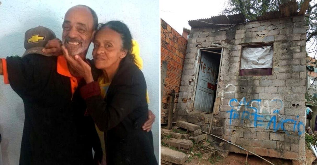Vizinho mobiliza rede do bem para construir casa de idosos que vivem em pobreza extrema 1