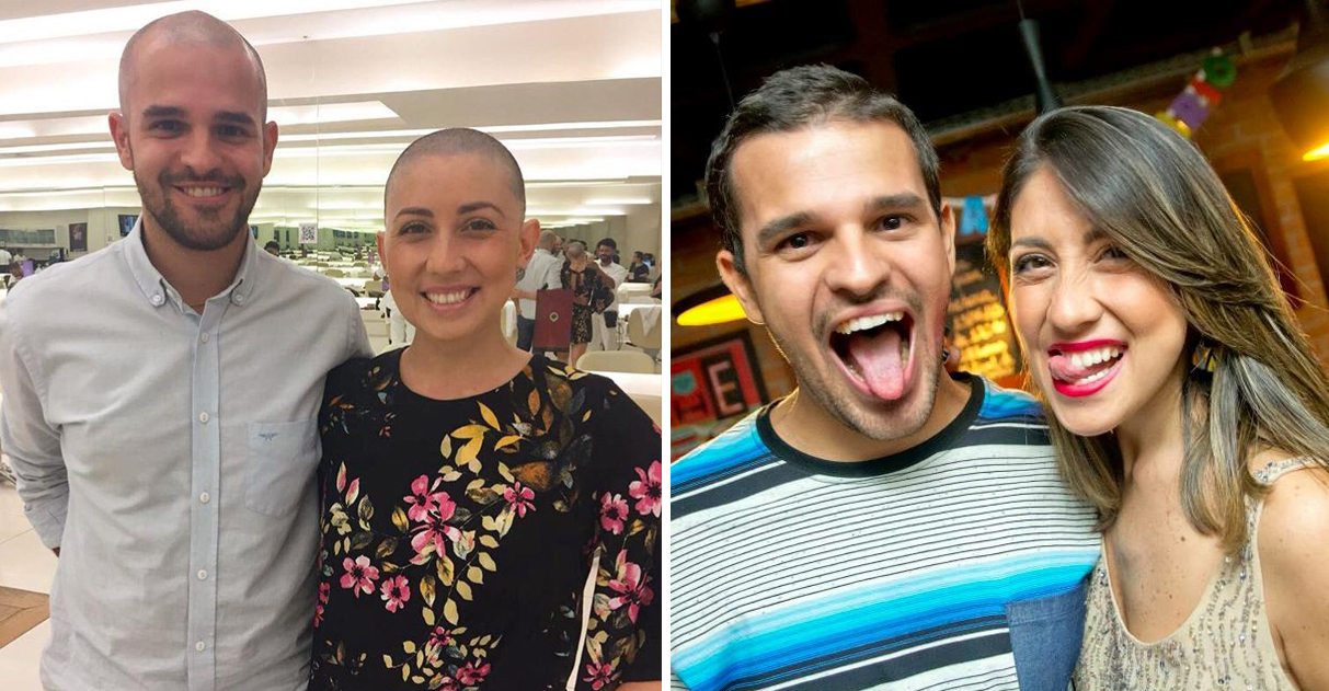 """Como o amor dele ajudou a esposa a superar câncer: """"nunca me vi doente nos olhos dele"""" 2"""