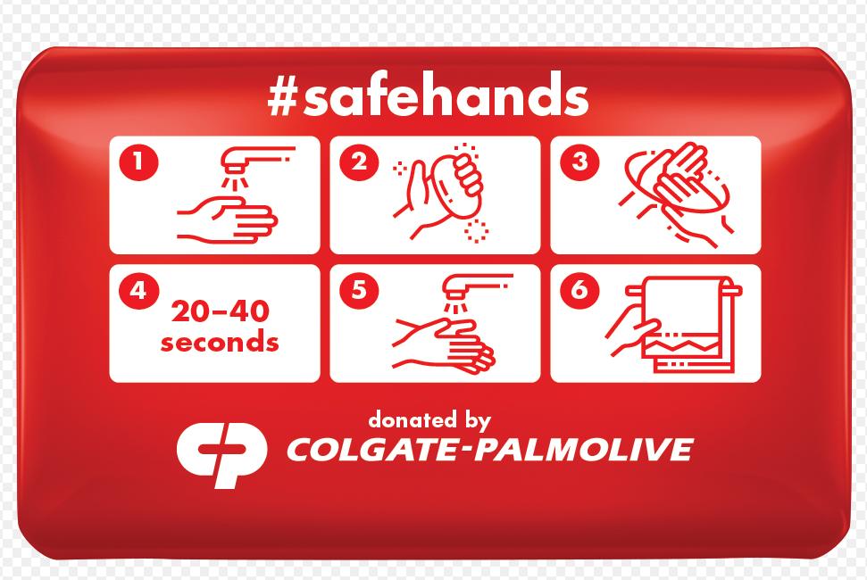 Colgate-Palmolive vai doar 25 milhões de sabonetes para ajudar a combater Covid-19 1