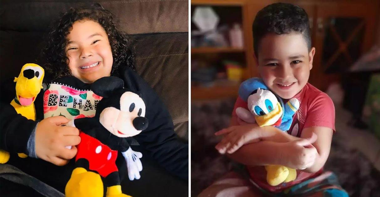 Mãe faz apelo na internet e menina doa Pato Donald para filho autista 1