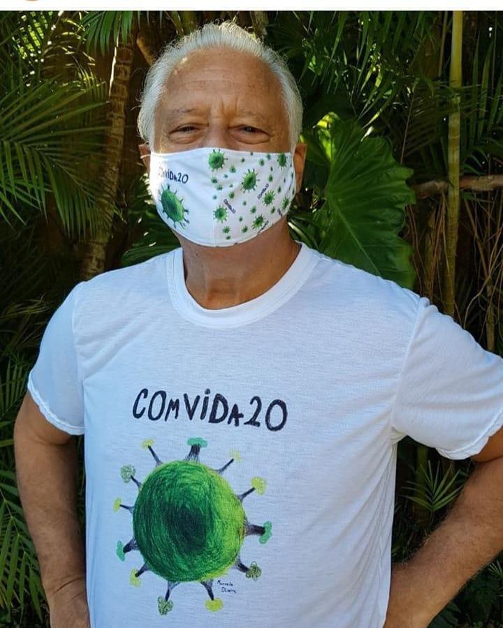 menina campanha COmVIDa-20 alimentos famílias carentes
