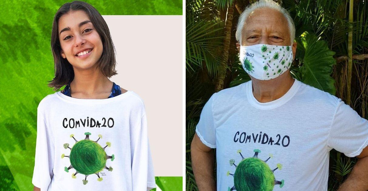 Menina cria campanha COmVIDa-20 e arrecada 4 toneladas de alimentos para famílias carentes 1