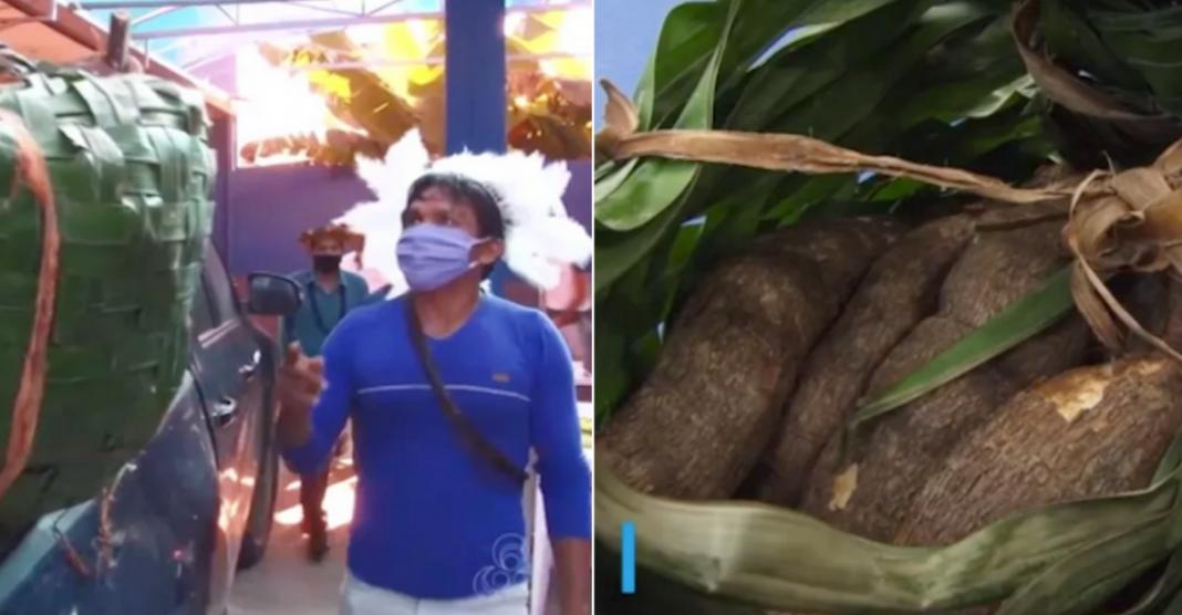 doação alimentos indígenas capa