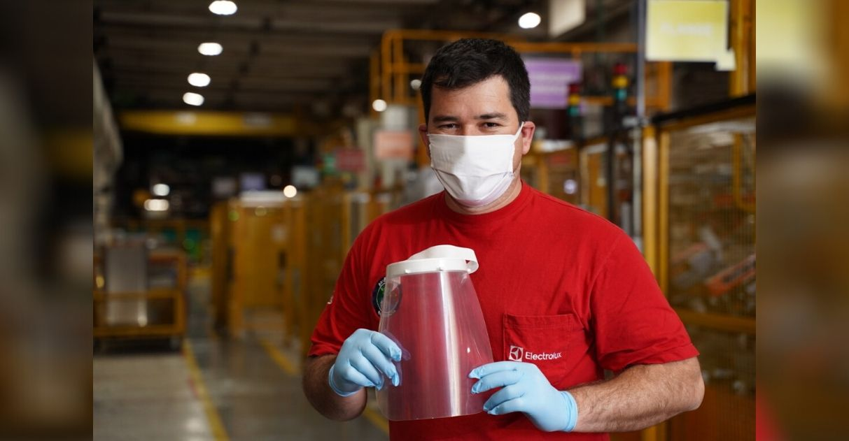 Electrolux doa 600 eletrodomésticos e 4 mil máscaras por semana para hospitais 4