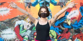 fábricas concorrentes se unem confeccionar máscaras ajudar corpo de bombeiros