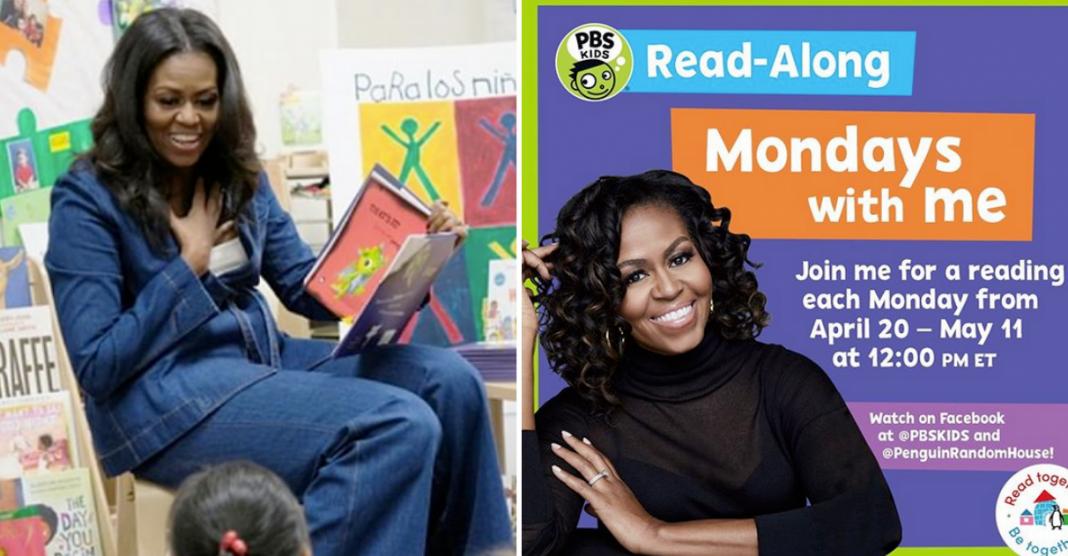 histórias infantis Michelle Obama destaque