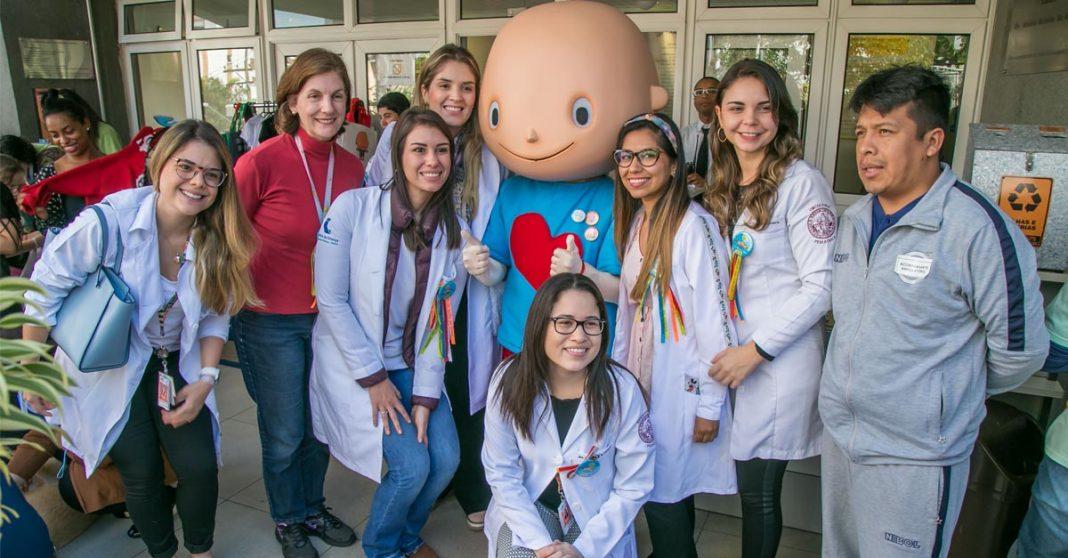 mascote hospital itaci funcionários