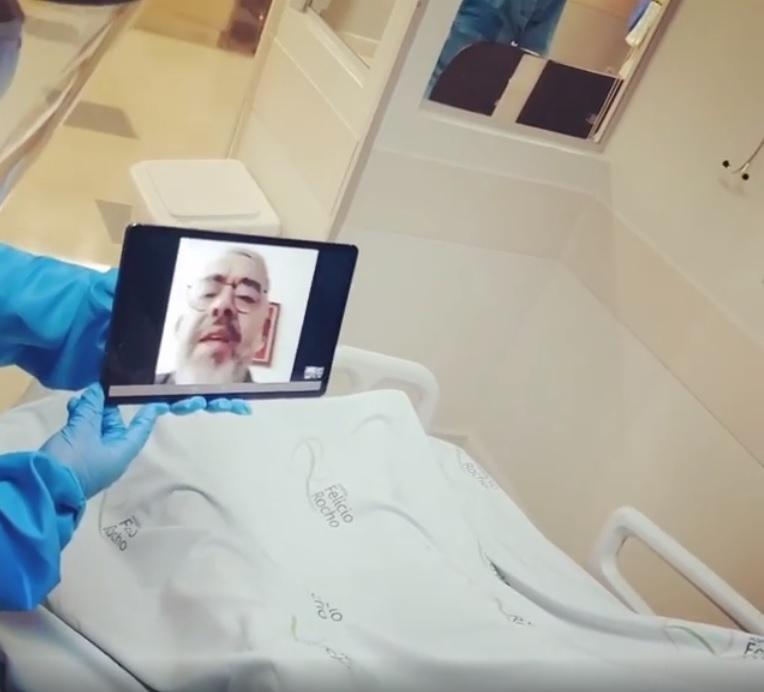 idoso faz aniversário hospital internado coronavírus