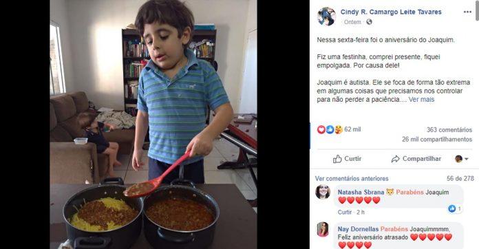 Mãe faz relato comovente sobre atitude inesperada de filho que dormiu chorando no seu aniversário 1