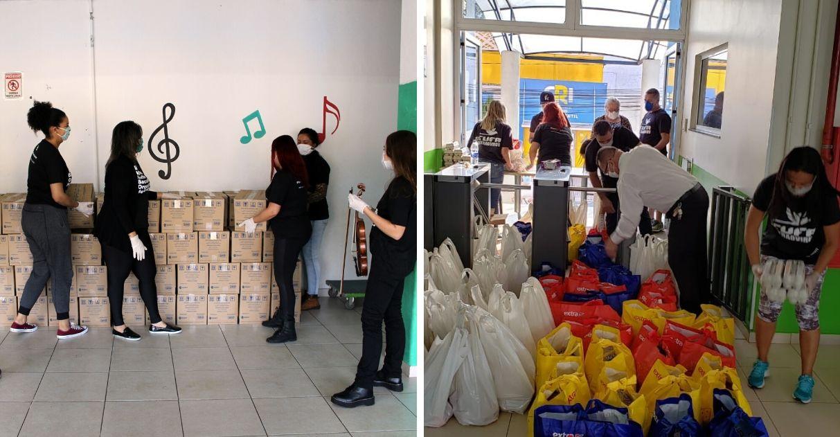 Instituto Baccarelli entrega cestas básicas para moradores da comunidade de Heliópolis (SP) 5