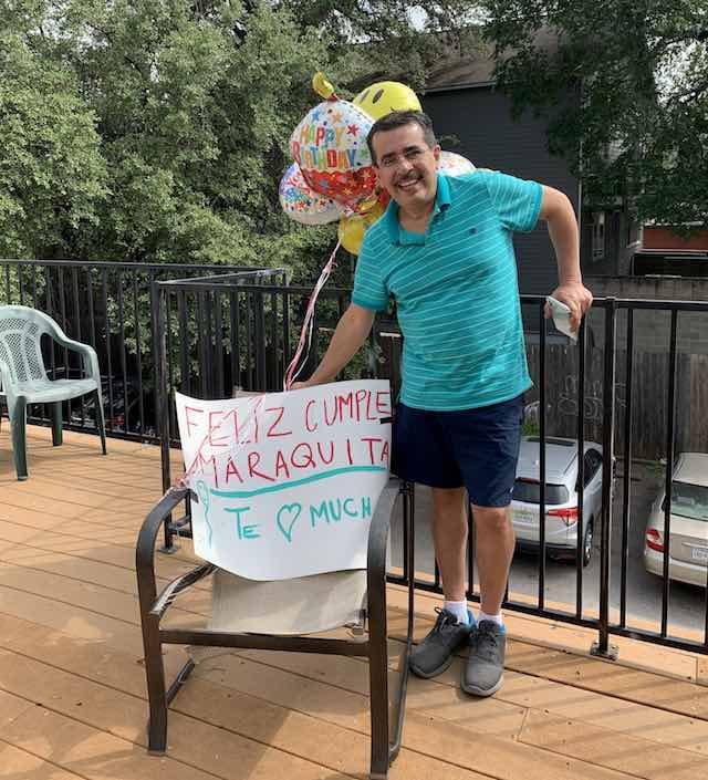 pai dirige milhares quilômetros surpreender filha almoço aniversário