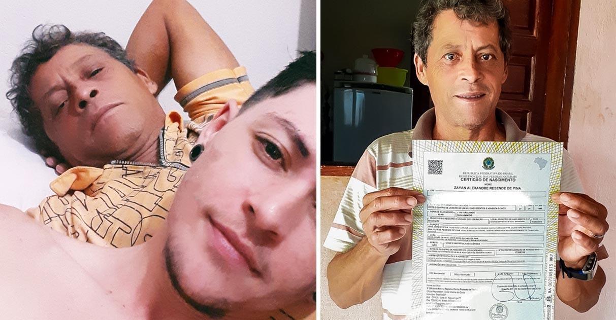 Após se revelar trans, filho é surpreendido por pai que abandona vício para apoiá-lo 1
