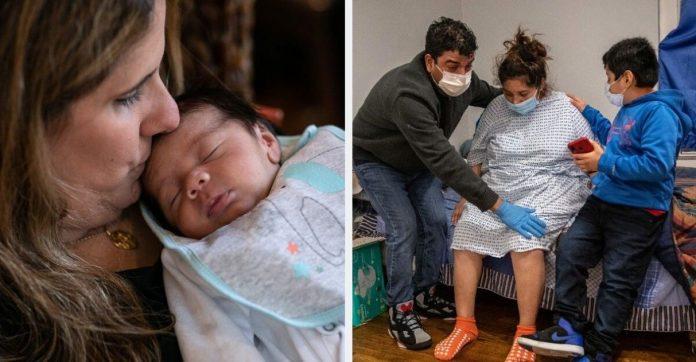 Professora se oferece para cuidar de bebê enquanto família inteira se recupera da Covid-19 1