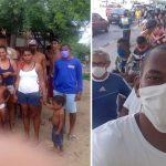 Após ser ajudado, enfermeiro que dormia em terraço doa comida a famílias e leva moradores de rua para almoçar