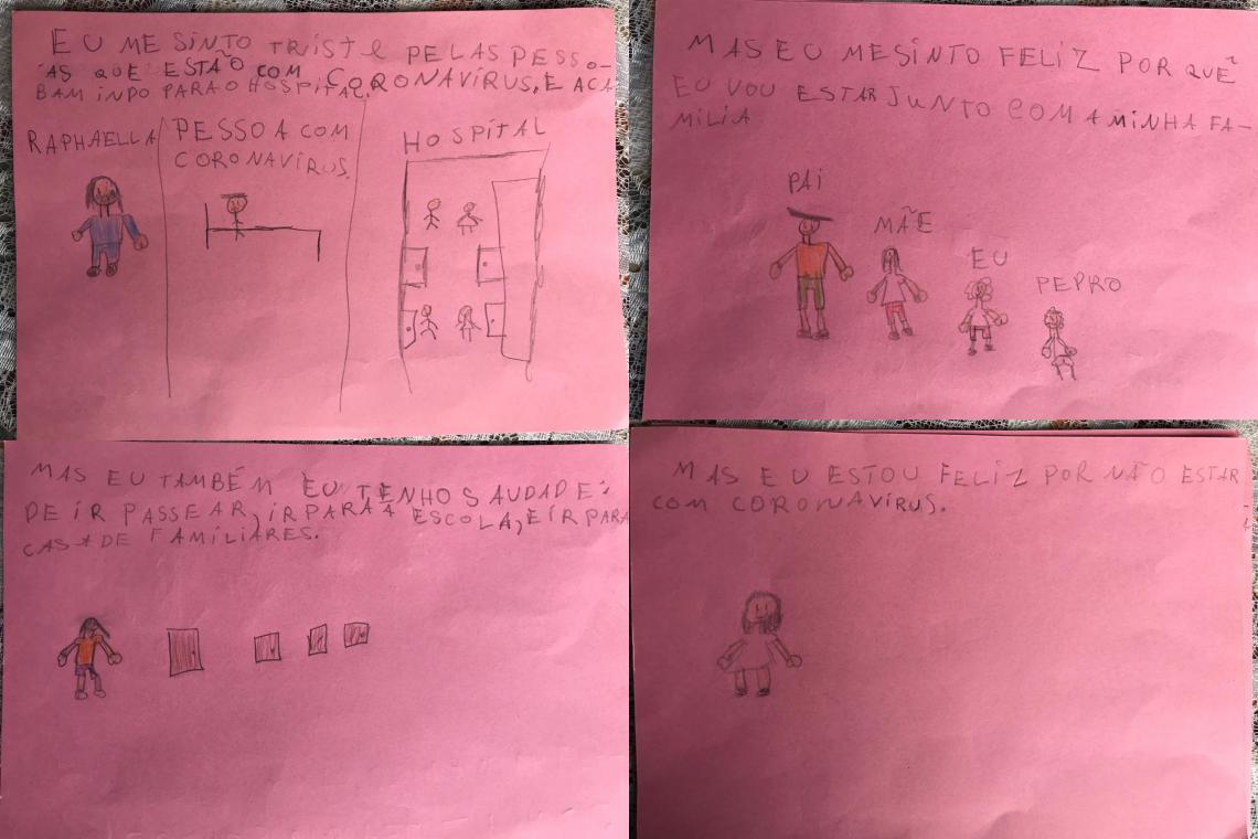 campanha unicef incentiva crianças dizerem como estão se sentindo quarentena