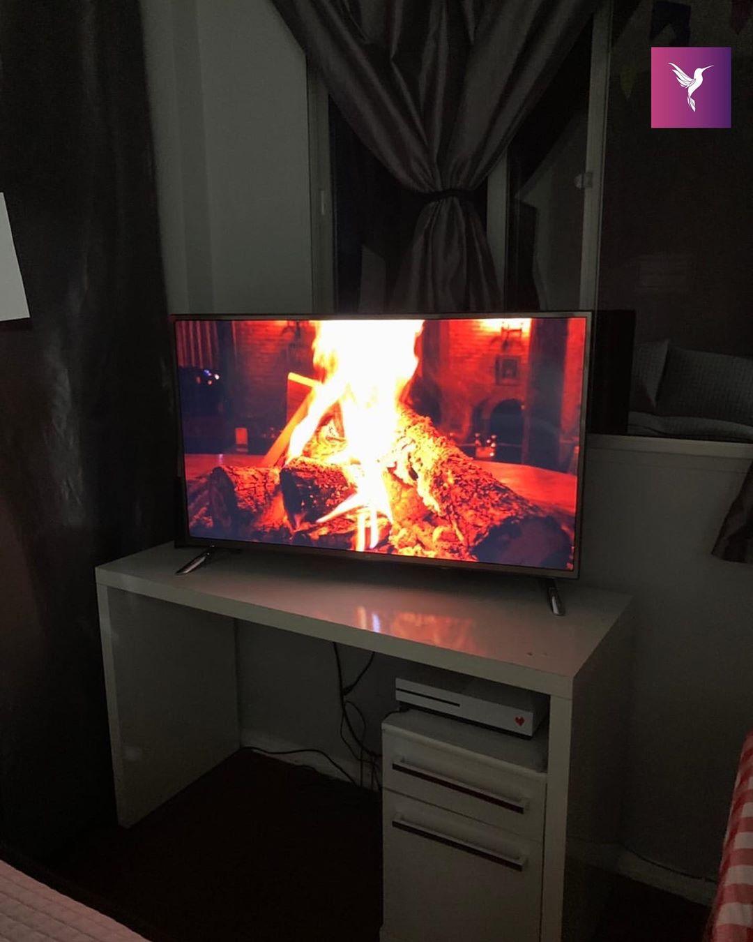televisão imagem fogueira festa junina