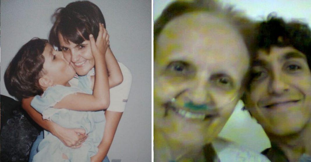 sel filho sorrindo mãe câncer