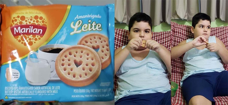 Após apelo de mãe, empresa promete enviar para menino autista biscoitos que saíram de linha 2