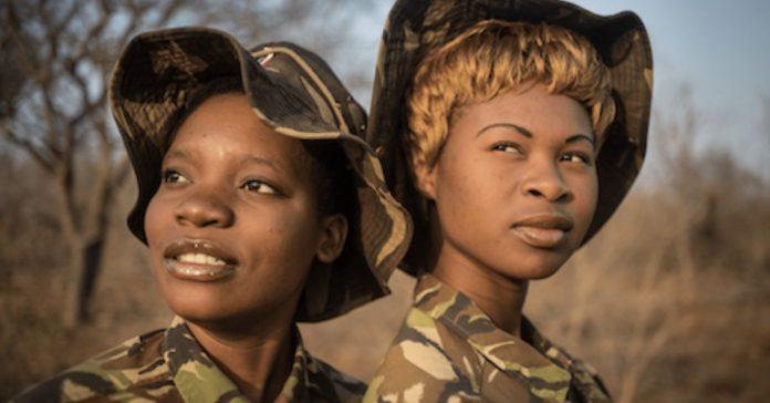Primeira unidade feminina no combate à caça ilegal de animais na África do Sul 1