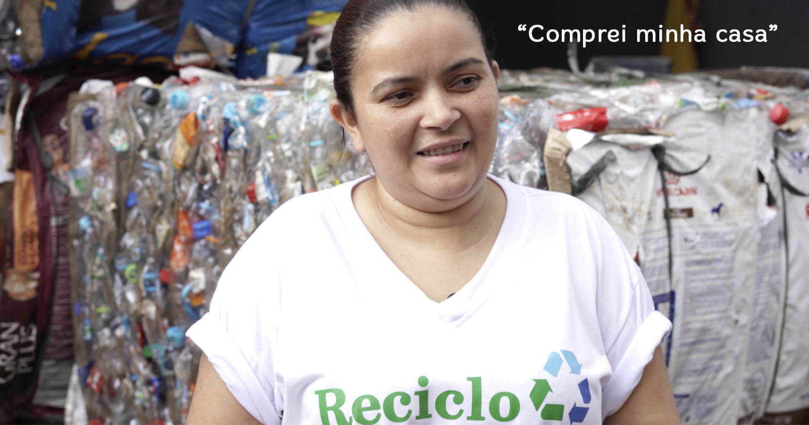 Ela viu na reciclagem a chance para mudar de vida: conheça a história da Katinha (SP) 1