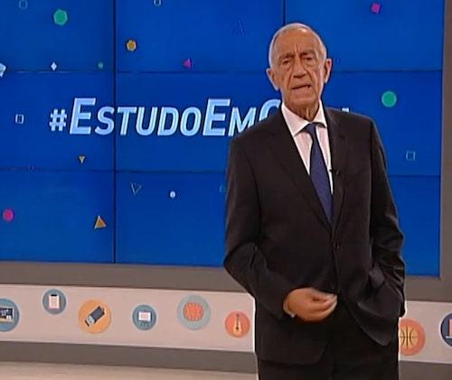 estudo em casa presidente portugal