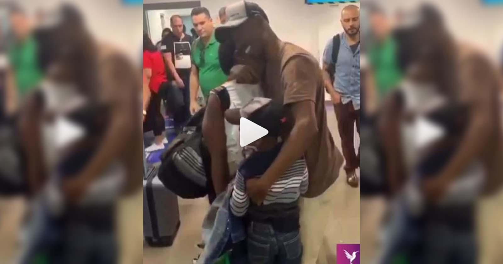 Empresário traz para o Brasil família de funcionário haitiano e promove reencontro emocionante 2