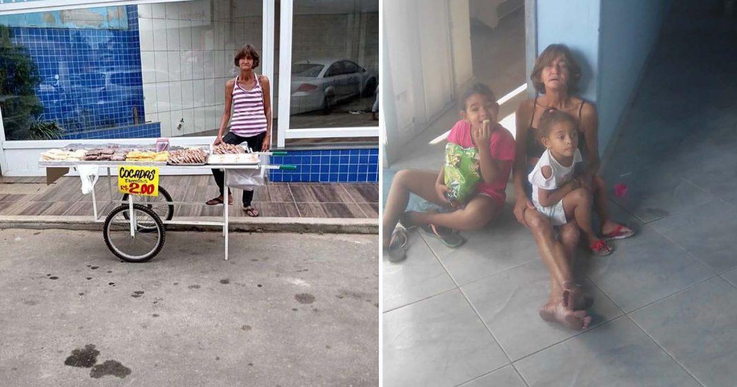 Após vaquinha, idosa que vendia cocada muda de vida e já está em sua casa nova! 1