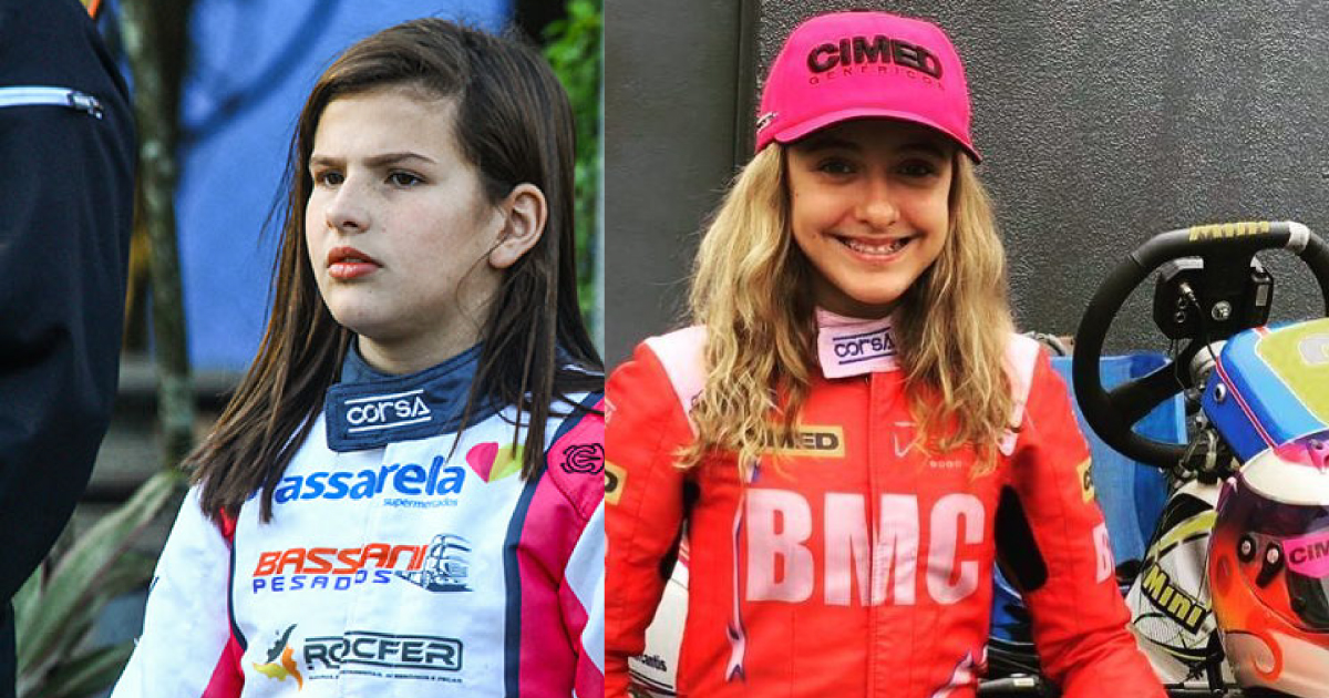 Duas brasileiras selecionadas para disputar vaga na Academia de Pilotos da Ferrari, na França 1