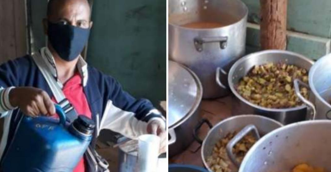 Após perder o filho e superar drogas, homem se dedica a alimentar mais de 200 famílias por dia 1
