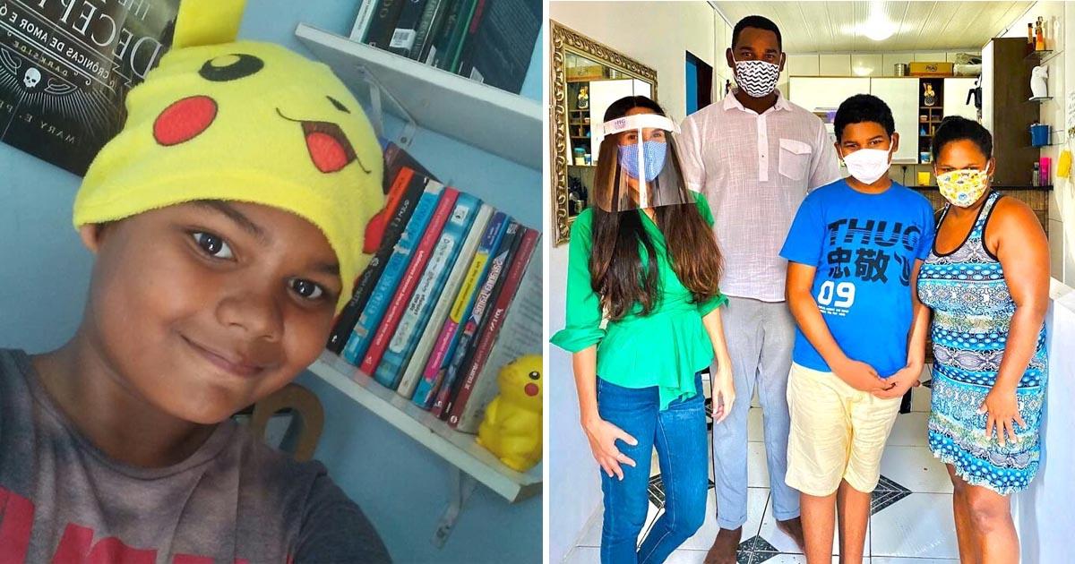 Após ataques racistas, menino que ama livros ganha reforma de casa e bolsa de estudos 2