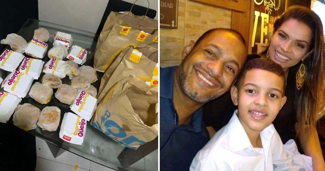 Após comprar R$ 225 em hambúrgueres, filho faz confeitaria da mãe bombar 2
