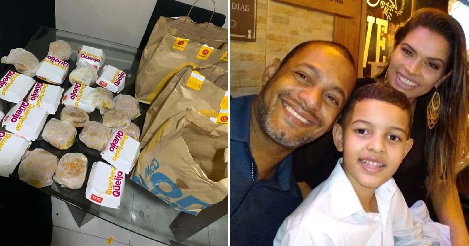 Após comprar R$ 225 em hambúrgueres, filho faz confeitaria da mãe bombar 3