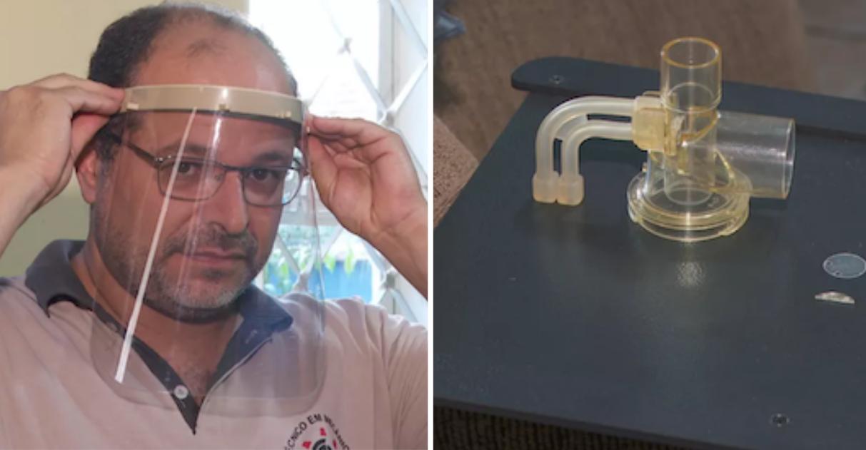 Professor de SP conserta respiradores de graça e compartilha conhecimento pela internet 5