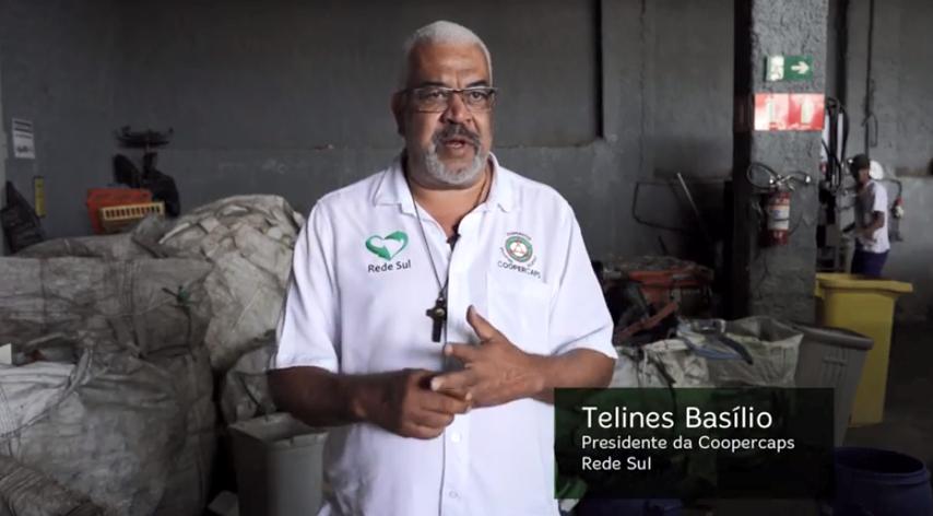 presidente cooperativa reciclagem depoimento
