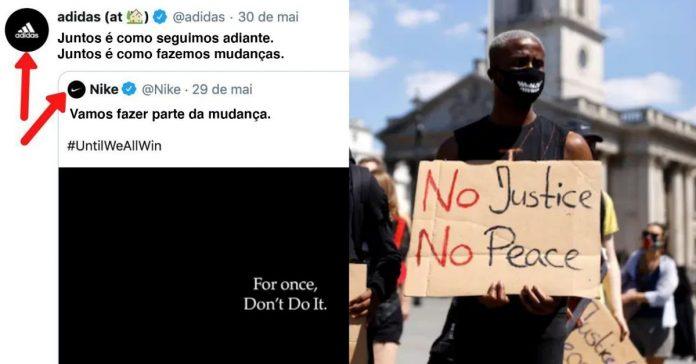 Nike e Adidas; Netflix e Hulu: Marcas historicamente rivais se unem contra o racismo 1