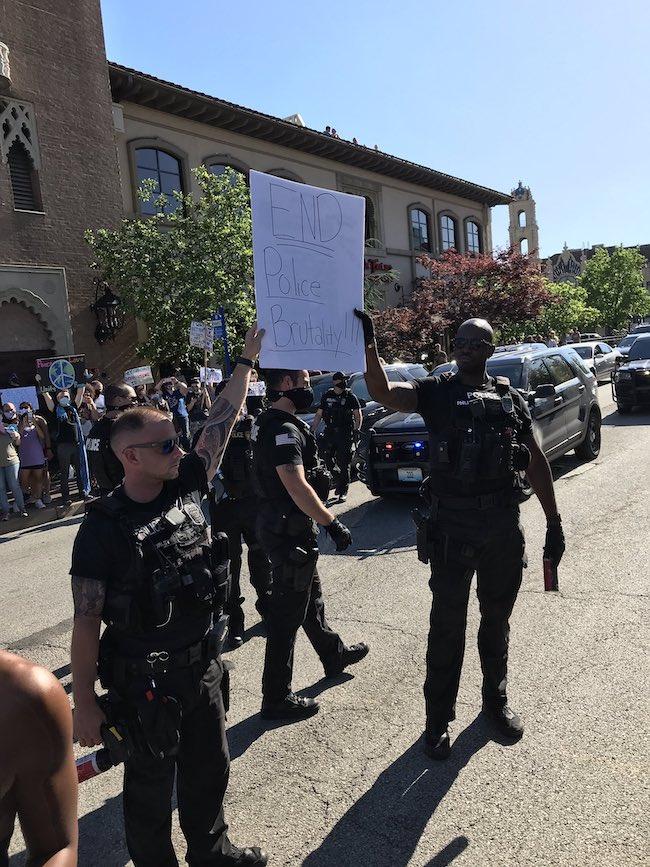 protestos policiais 1