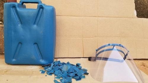 reciclagem máscaras hospitalares
