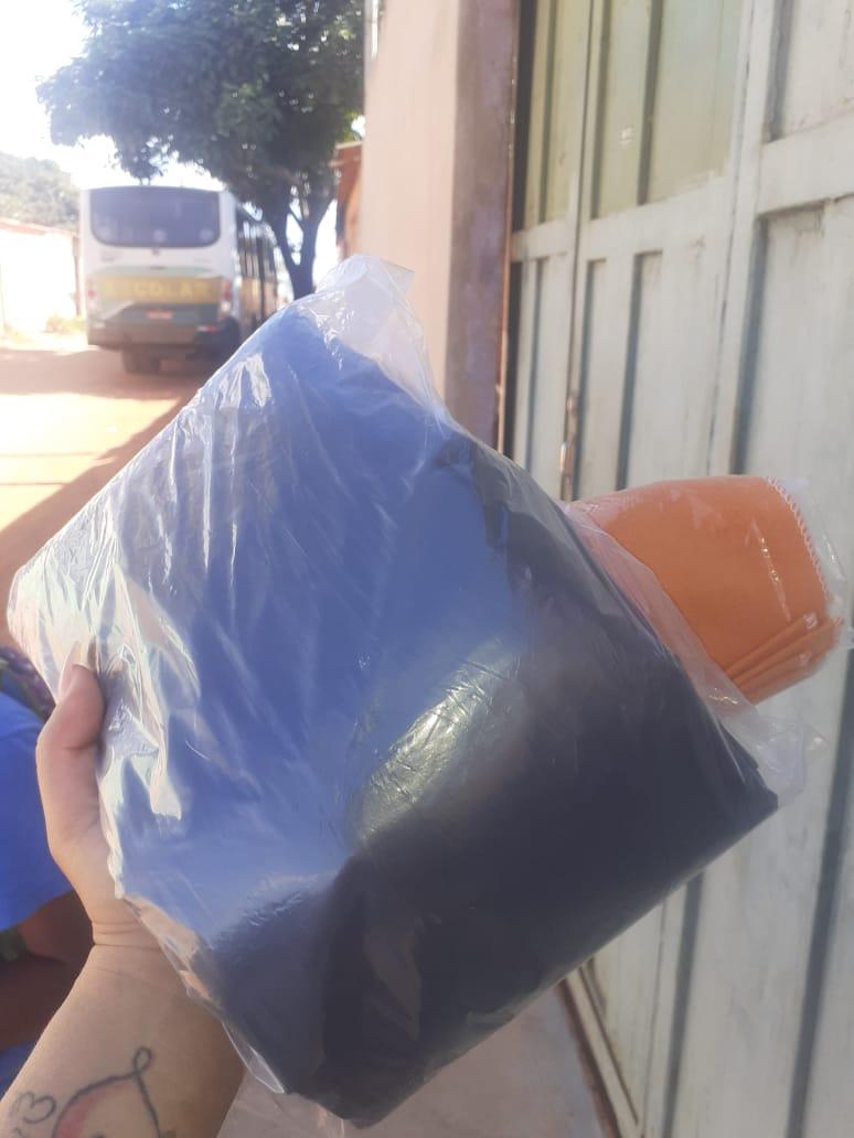 pacote sacos de lixo