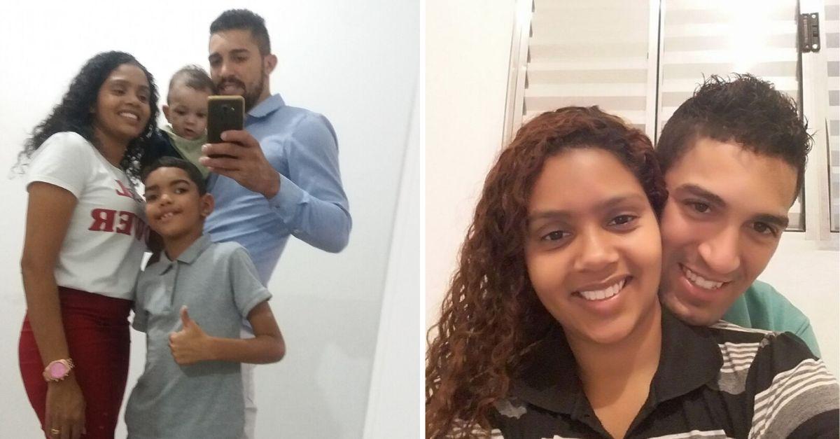 selfie mãe pai e filhos